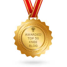 We've been ranked number 8 in the top 50 Knee Blogs on feedspot! - see http://blog.feedspot.com/knee_blogs/