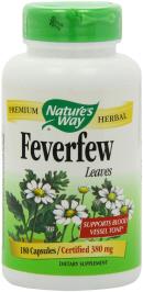Feverfew can help reduce arthritis pain