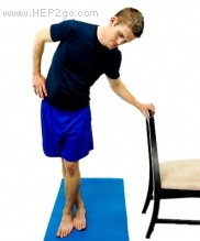 Iliotibial band stretches.  Approved use HEP2go.com