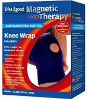Using magnets e.g. in knee braces can help to control arthritis pain