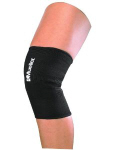 Knee braces/supports are a good way to reduce knee swelling