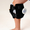 Double knee ice wrap with two ice bags