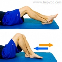 Exercises help to reduce knee stiffness