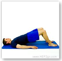 General Exercises for knee pain can make a big difference.  Approved use by www.hep2go.co