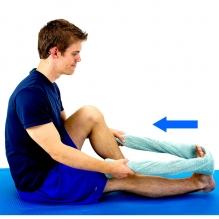 calf stretches reduce pain  tightness