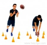 Improving your balance and proprioception helps to reduce the risk of ACL injuries.  Approved use www.hep2go.com