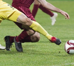 Tackles in sport is a common cause of ACL knee injuries