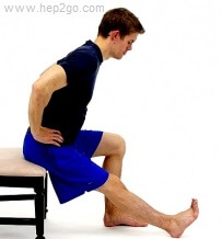 Stretches can help prevent Osgood Schlatter Disease