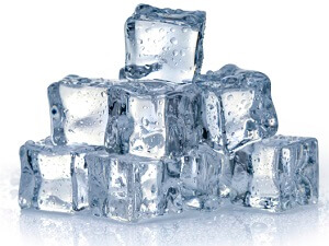Ice is a great way of reducing pain and inflammation following a knee injury