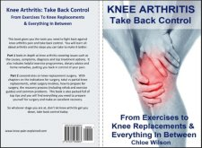 Our new Knee Arthritis Book is out in paperback or for instant download on your Kindle.  Knee Arthritis: Take Back Control: From Exercises To Knee Replacements & Everything In Between