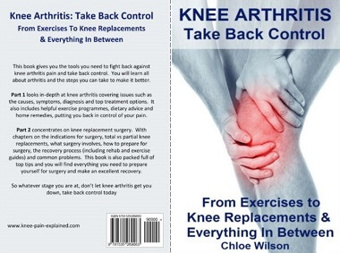 Knee Arthritis Book: Take Back Control