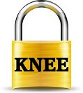 Knee locking usually indicates that something is getting stuck inside the joint and blocking it from moving normally