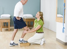 Total knee replacement rehab - how to get the best results