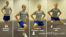Lunge clock.  Approved use by ww.hep2go.co