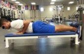 Eccentric Nordic hamstring strengthening exercises