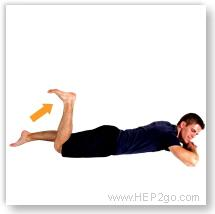 Pase 3 of ACL surgery recovery is about regain strength and stability.  Approved use www.hep2go.com