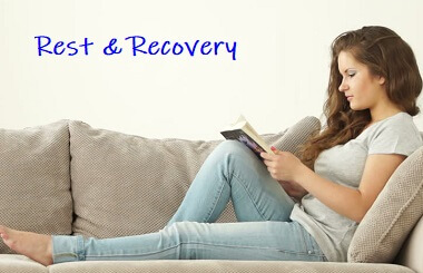 Rest after an injury is important to give your body time to recover. But how much should you rest and how much is too much?
