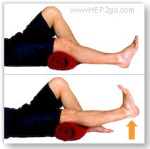 Short arcs are a good way to strengthen the quads after a meniscus tear. Approved use by www.hep2go.com