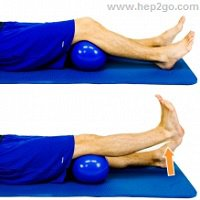 Short Arcs Arthritis Knee Exercise