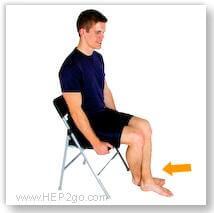 Exercises help to reduce knee stiffness