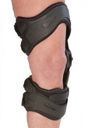 Arthritis knee braces work by reducing the forces going through the damaged parts of the knee