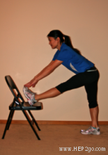 Knee stretches are a great way to reduce knee pain and reduce the risk of injur