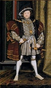 Henry VIII is a famous gout sufferer most likely due to his diet