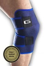 Neo G Closed Knee Support: Neoprene knee brace