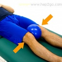 Knee exercises are a vital part of any treatment programme for Osgood Schlatters