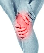 Knee cap pain occurs most commonly at the front of the knee