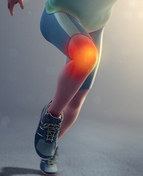 Find out about the common causes of burning knee pain