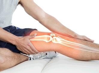 Knee locking diagnosis