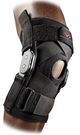 McDavid Hinged Knee Brace with Cross Straps